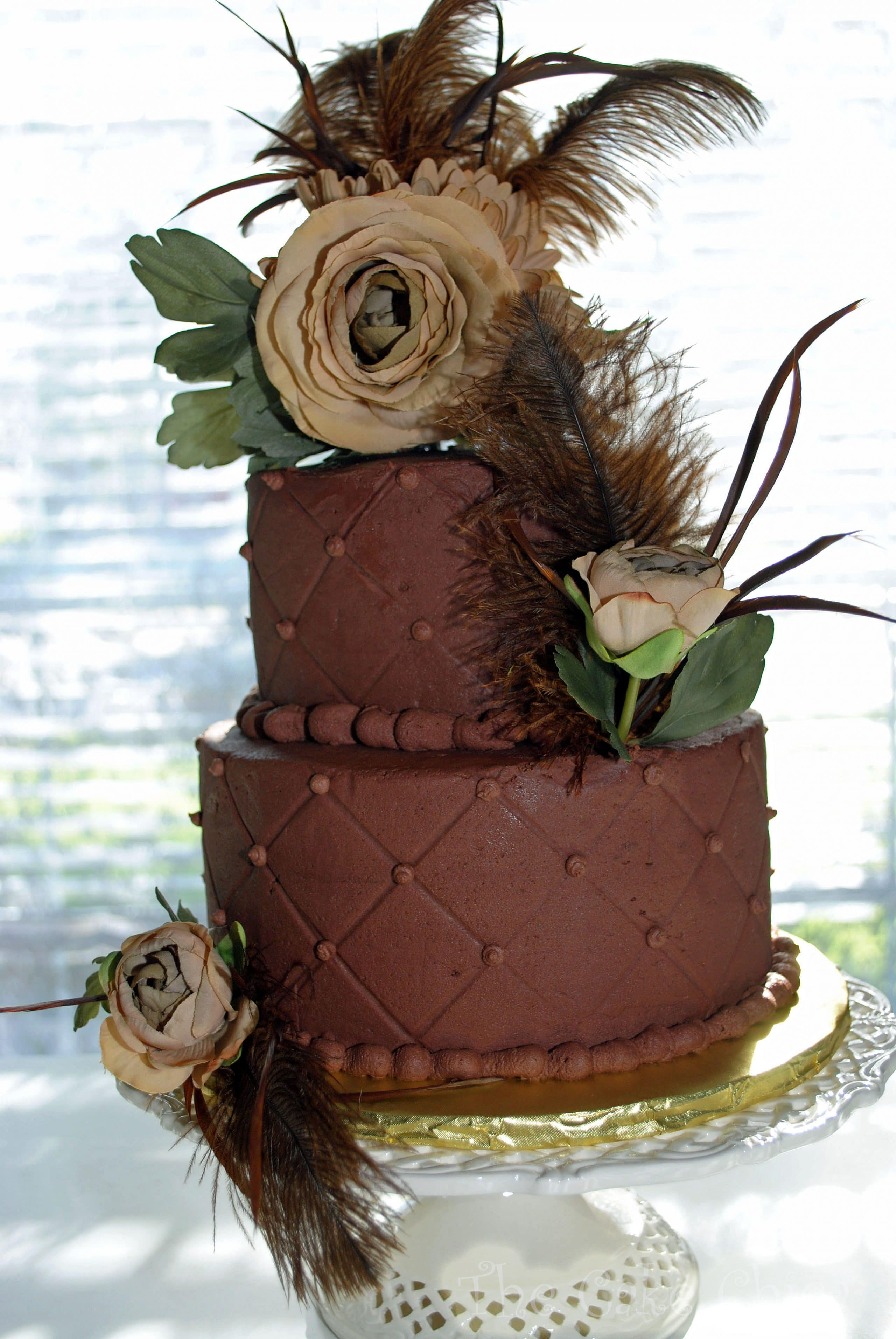 Yellow WASC with Chocolate Buttercream