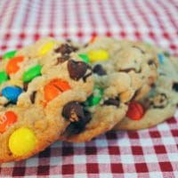 Best Big, Fat, Chewy M&M Chocolate Chip Cookie