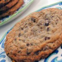 Chocolate Chip Cookie Week!!!!! / Big Chocolaty Chip Cookie
