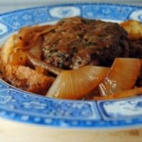 French Onion Salisbury Steak