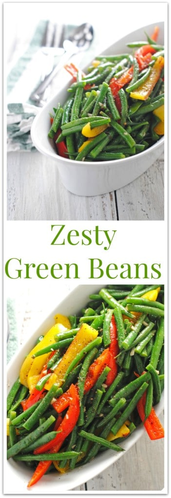 Zesty Green Beans for Pinterest