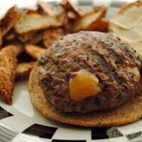 Cheddar Cheese Stuffed Burgers