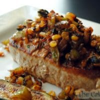 Chipotle Turkey Cutlets with Charred Corn Salsa