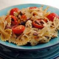 Greek Olive and Feta Cheese Pasta