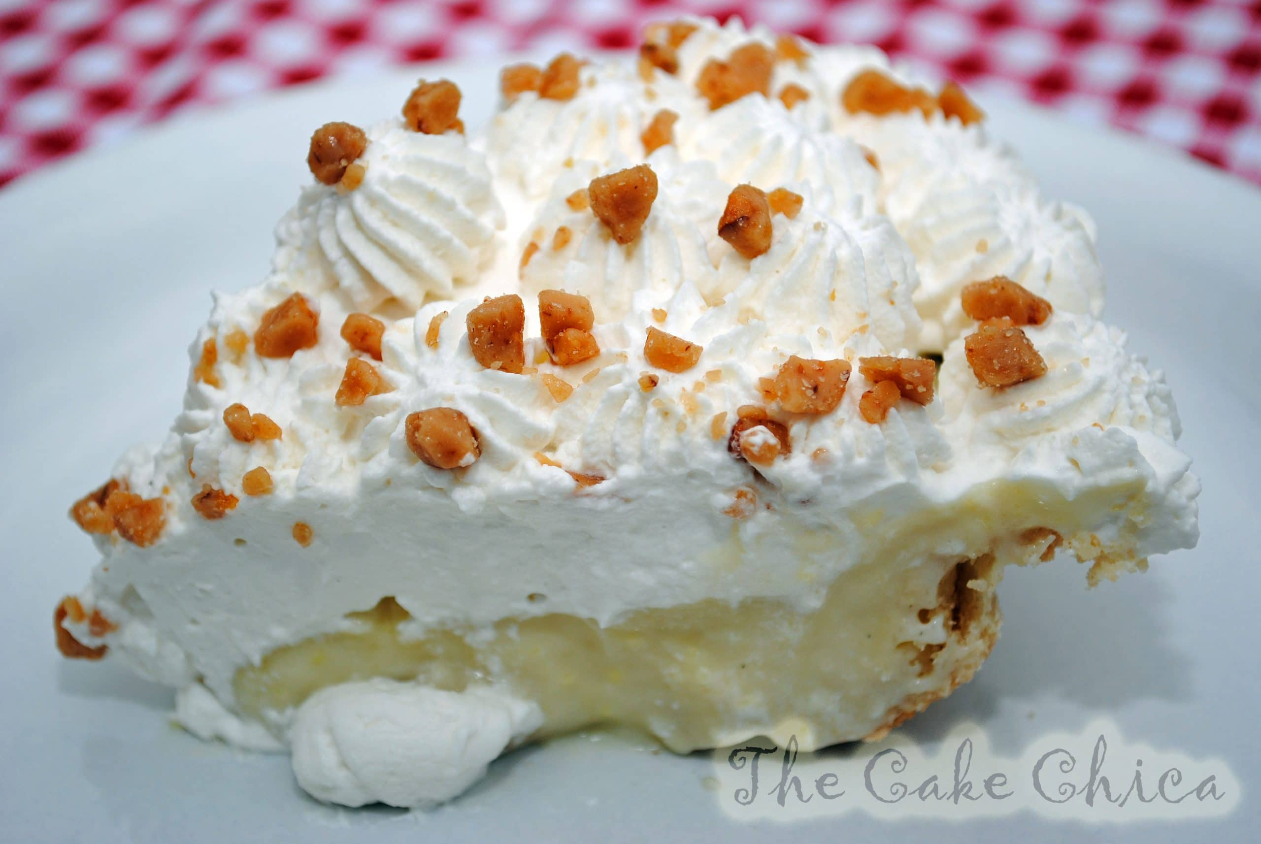 Banana Brickle Cream Pie
