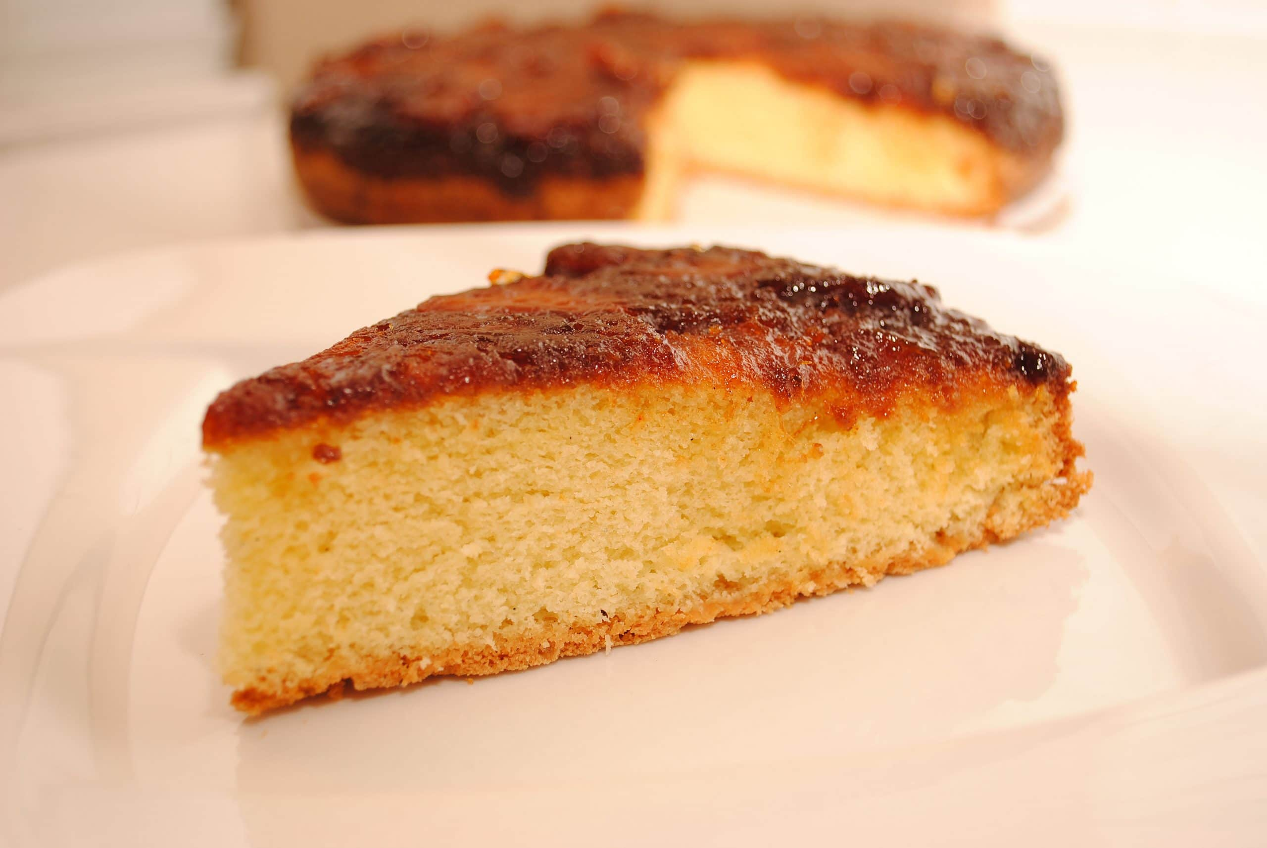 Carmelized Pineapple Upside Down Cake