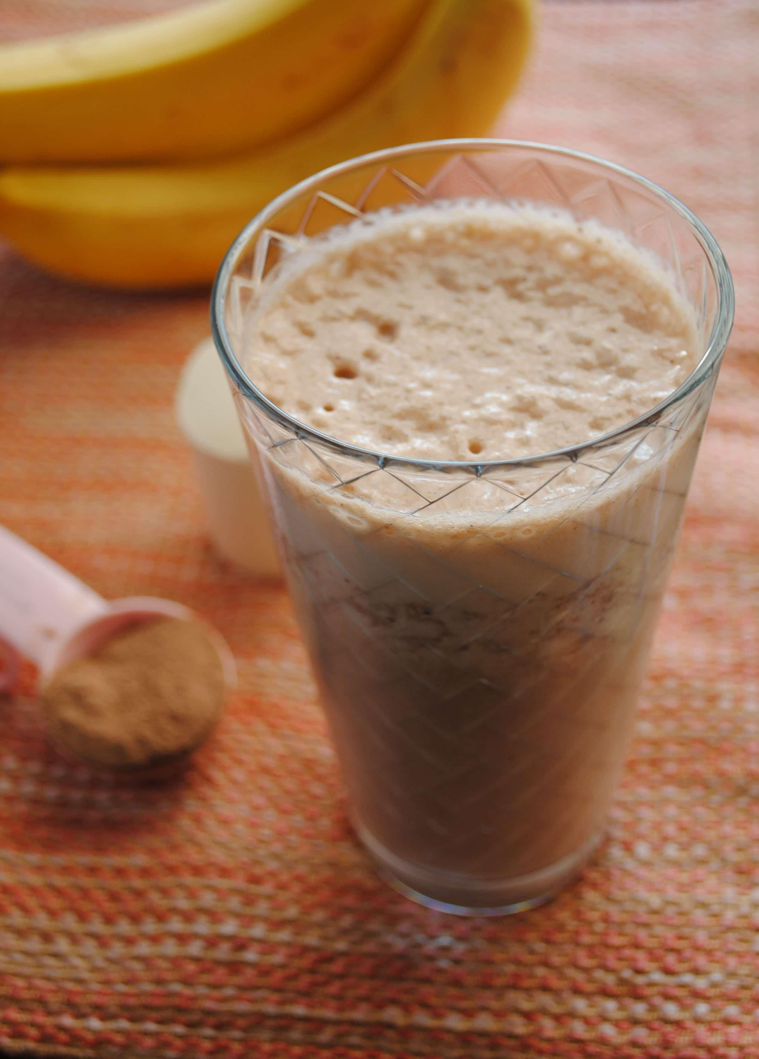 Cocoa Powder Protein Shake