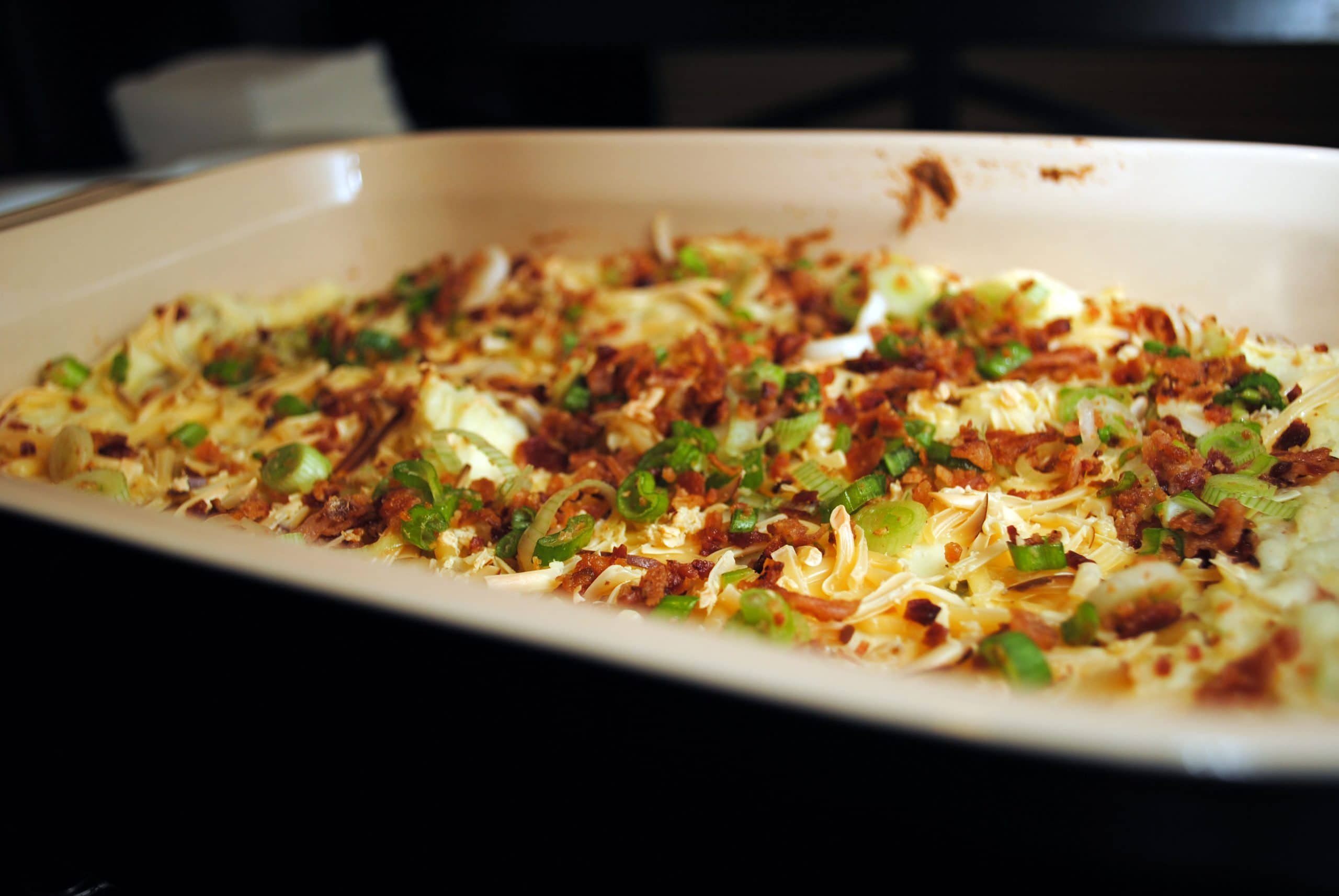 Mashed-Potato Casserole With Smoked Gouda And Bacon Recipe ...