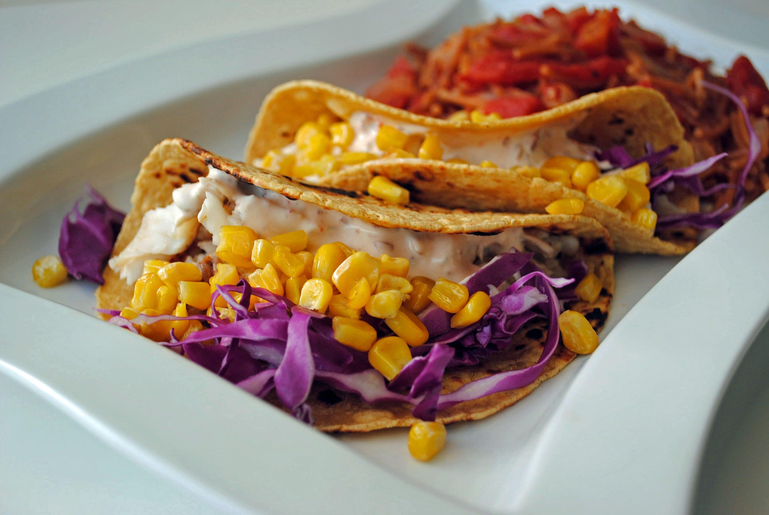 Fish Tacos with Chipotle