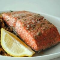 Lemon-Rosemary Salmon Filets
