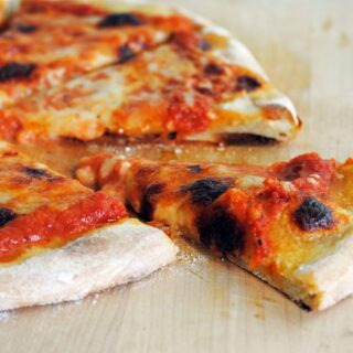 New York-Style Thin-Crust Pizza