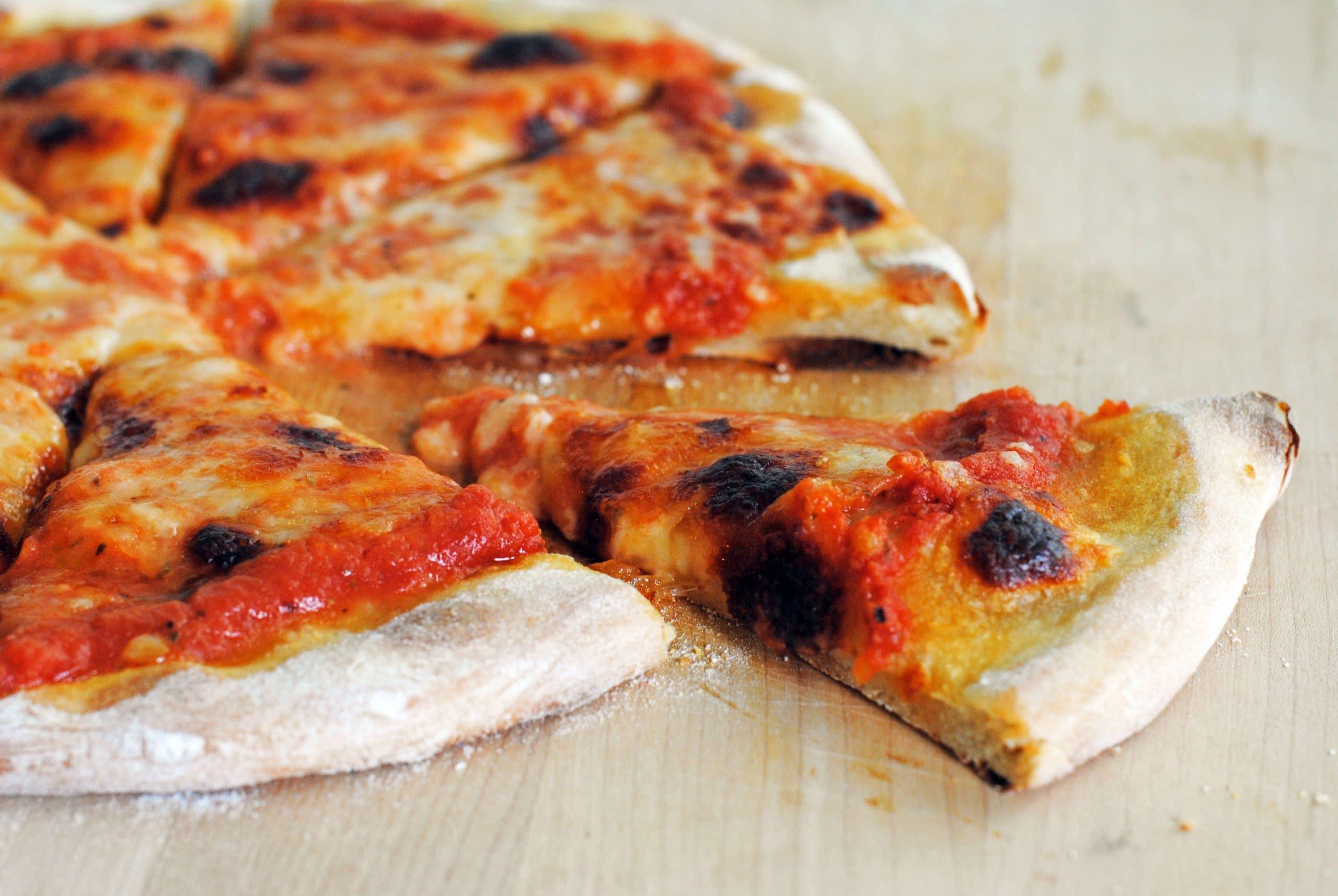 New York-Style Thin Crust Pizza