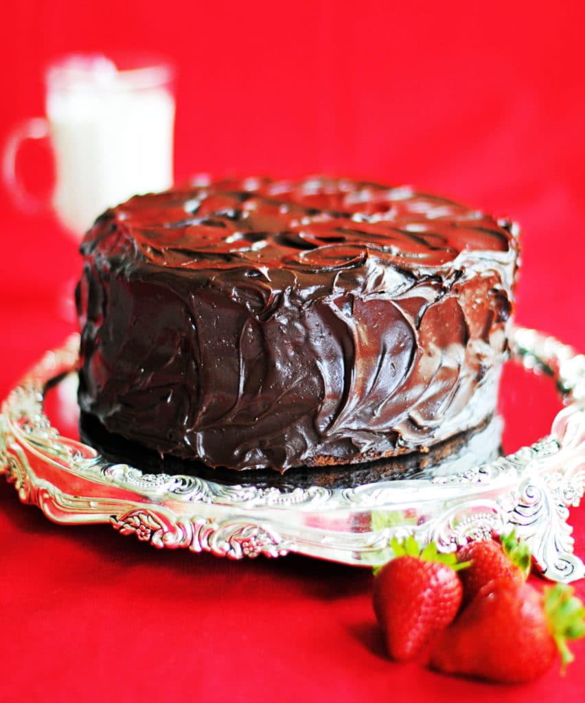 Old Fashioned Chocolate Cake The Cake Chica