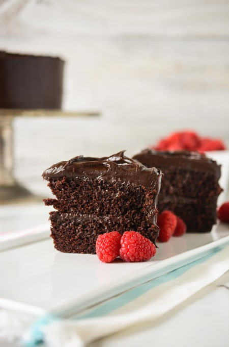 Old Fashioned Chocolate Cake