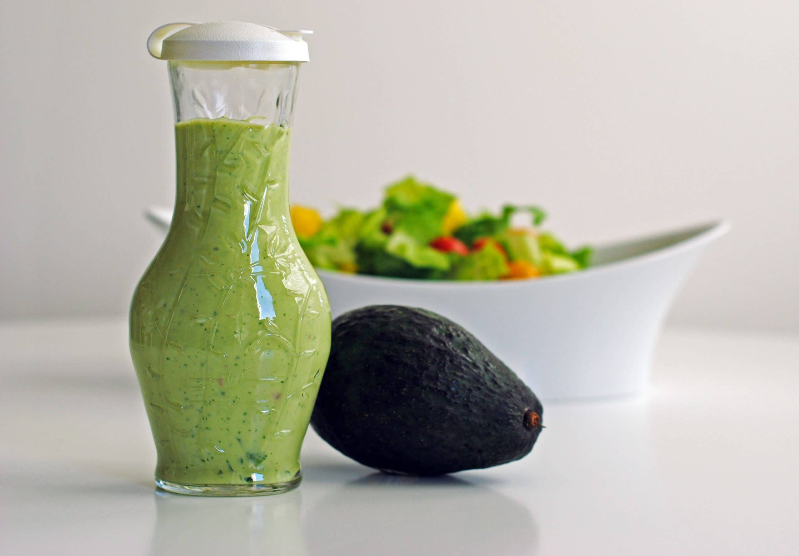 Creamy Avocado Ranch Dressing