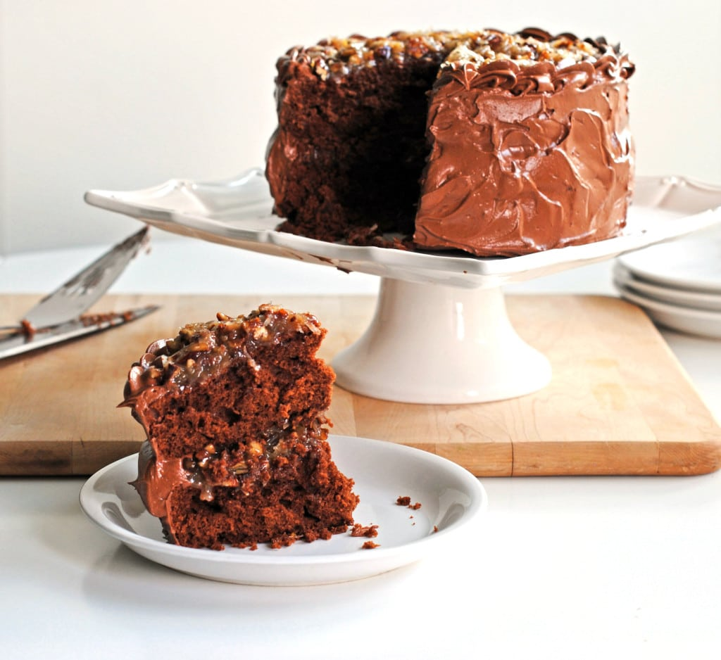 German Chocolate Cake Without Pecans