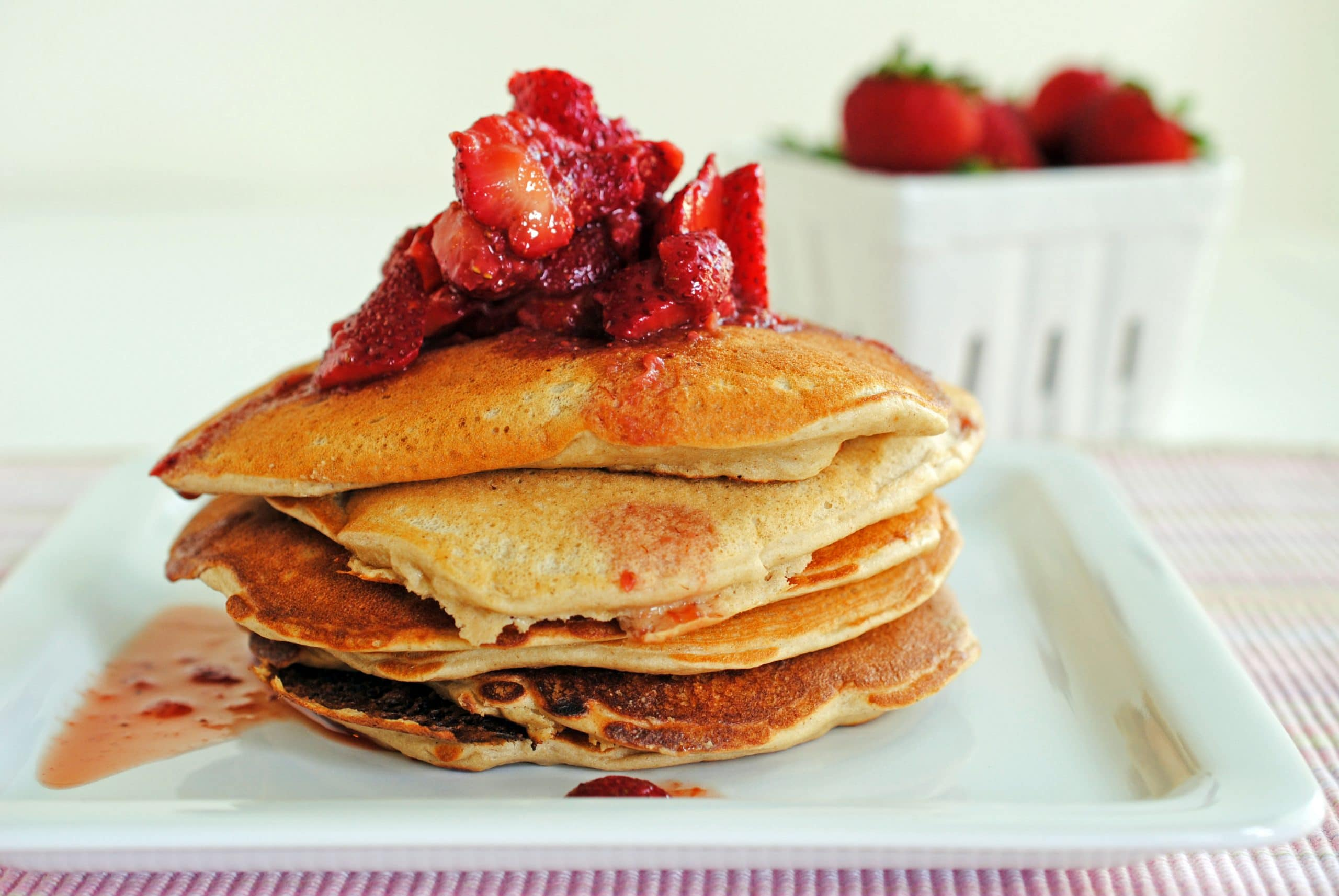 Pumped Up Protein Pancakes