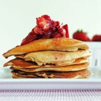 Jamie Eason's Pumped Up Protein Pancakes