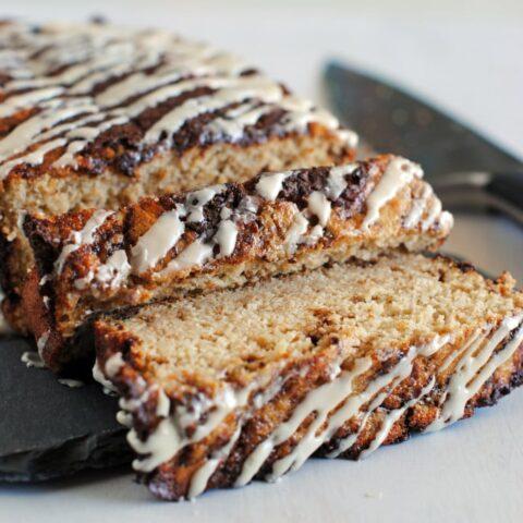 Cinnamon Swirl Protein Bread