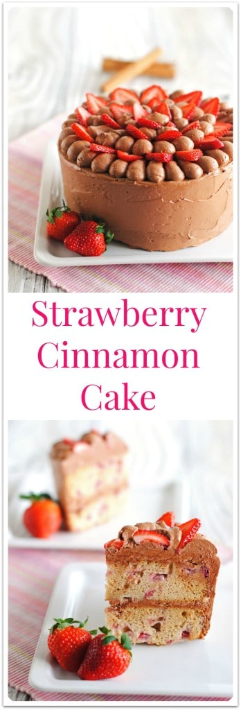 Strawberry Cinnamon Cake