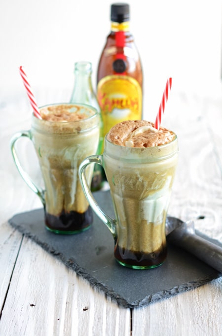 Coca Cola and Kahlua Float