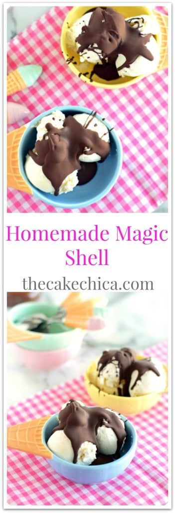 Homemade Magic Shell
