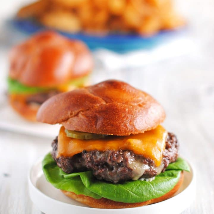 Grilled Cheeseburgers