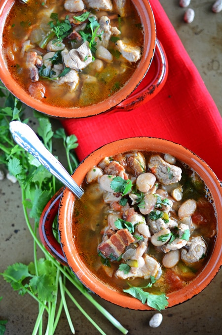 how to cook frijoles charros