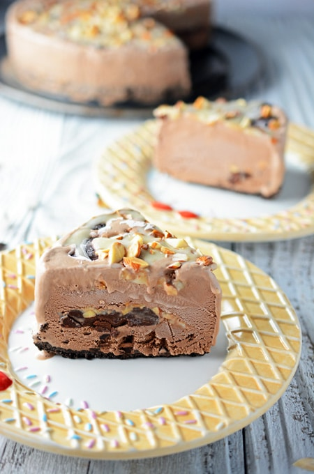 Rocky Road Sundae Pie