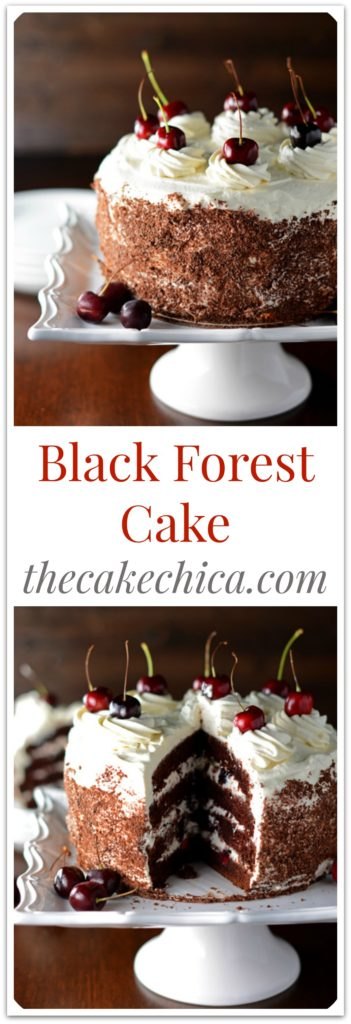 Black Forest Cake for Pinterest