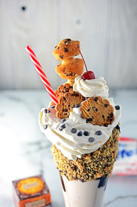 Chocolate Chip Monster Milkshake