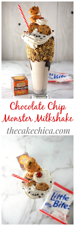 Chocolate Chip Monster Milkshake