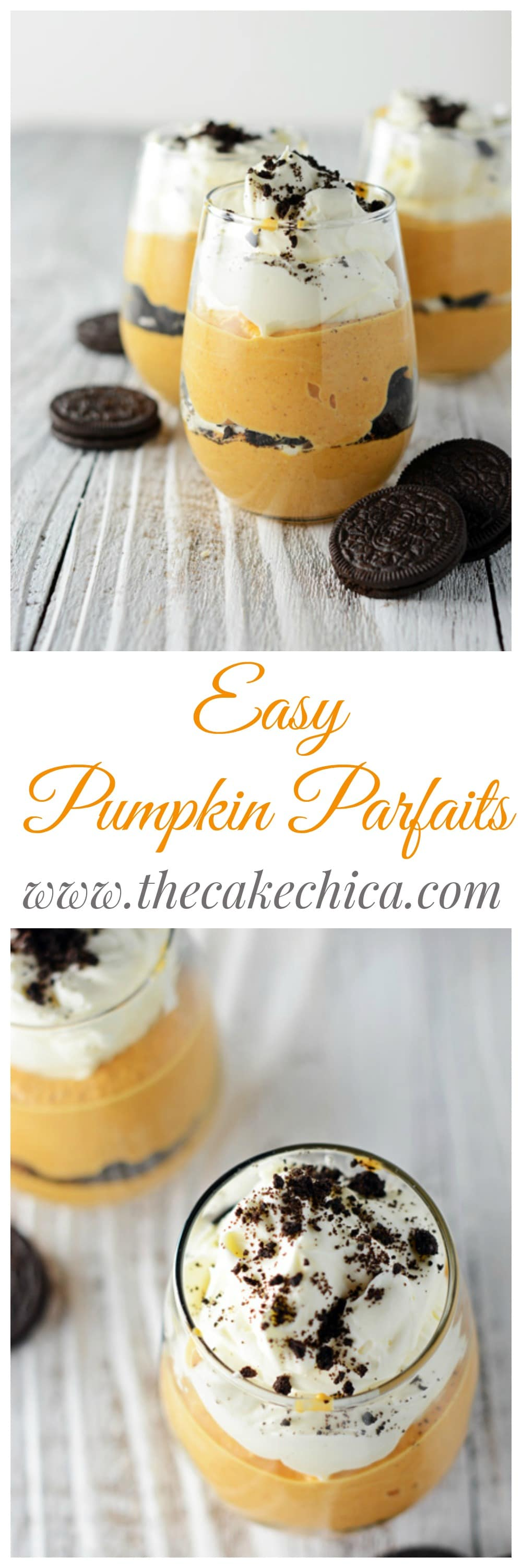 Easy Pumpkin Parfaits