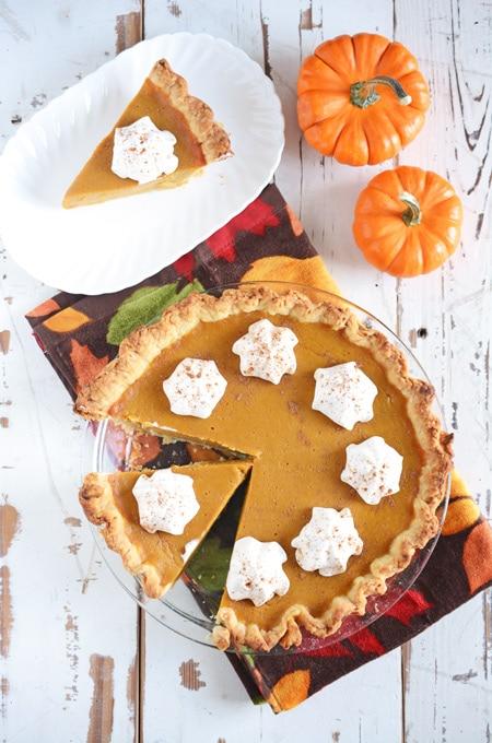 The Quintessential Pumpkin Pie