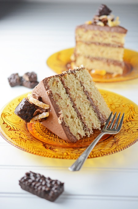 Chocolate Orange Spice Cake