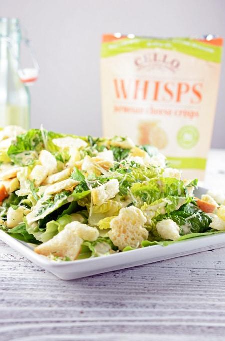 Caesar Salad with Ancovies