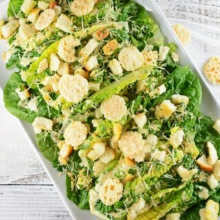 Caesar Salad with Ancovies