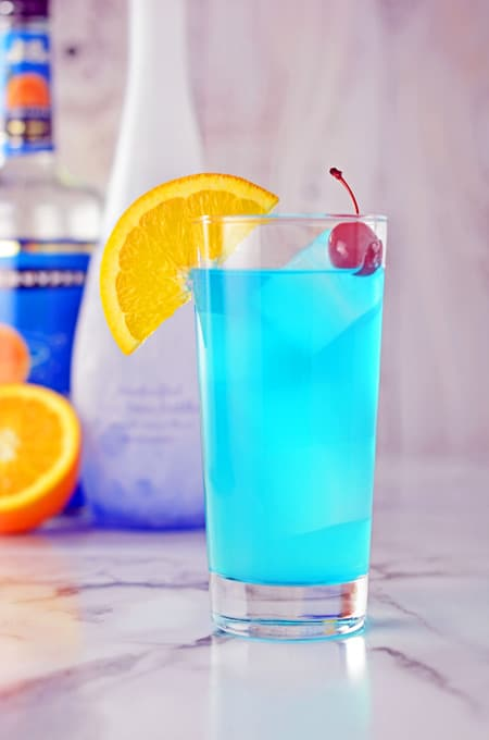 Blue Lagoon Cocktail