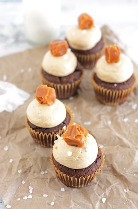 Chocolate Cupcakes with Chocolate Espresso Buttercream