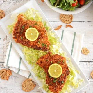 Crispy Deviled Chicken Breast