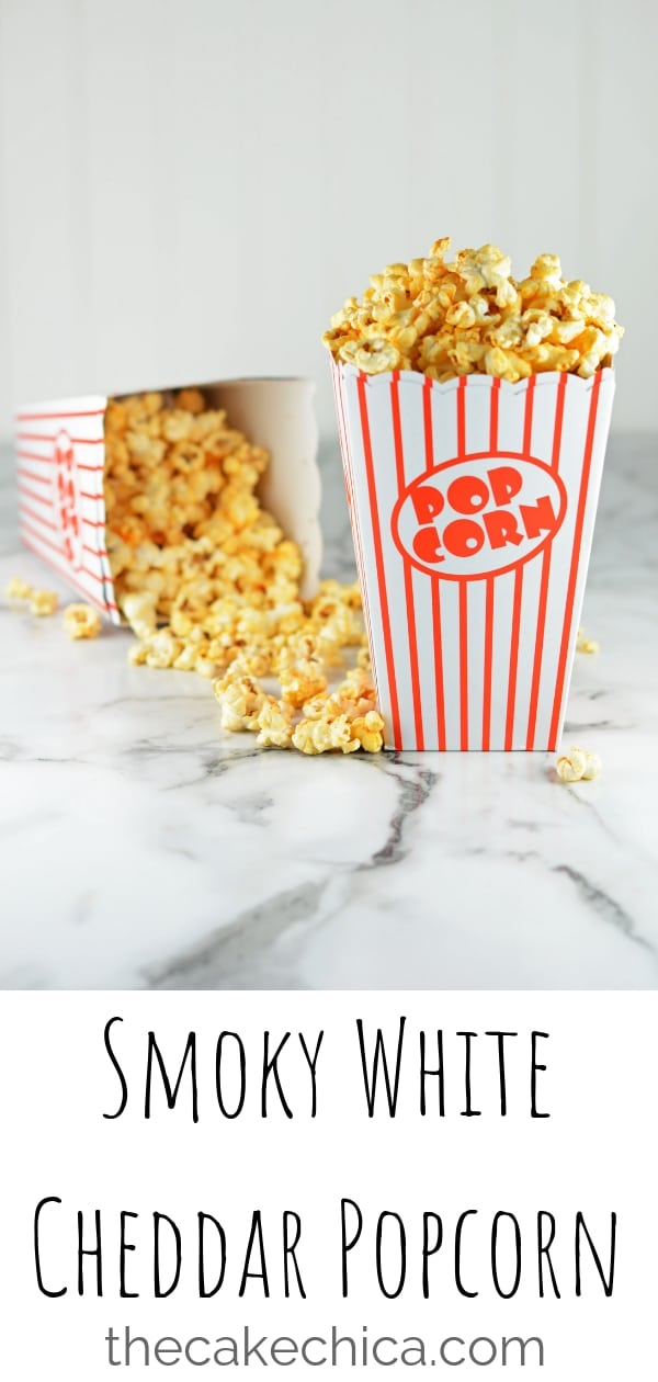 Popcorn made on the stove top flavored with spices and white cheddar popcorn seasoning. #snacks #popcorn #snackfood #popcornrecipes #whitecheddar