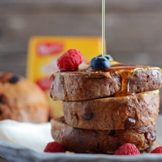 Mini Panettone French Toast
