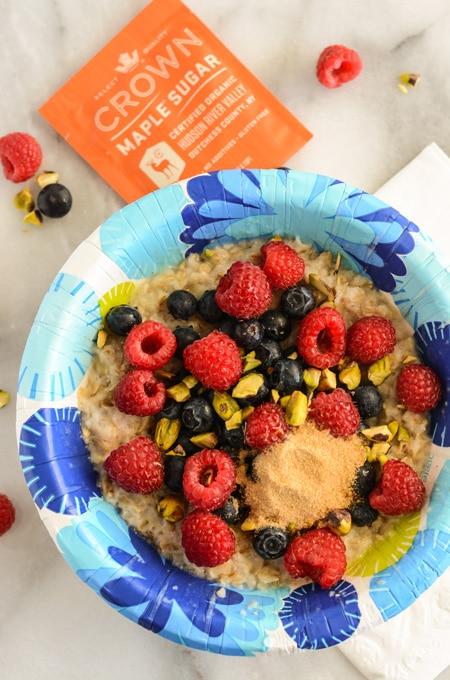 Real Microwave Oatmeal