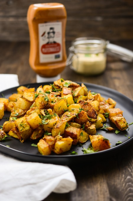 Rosted Chipotle Ranch Potatoes