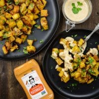 Roasted Chipotle Ranch Potatoes