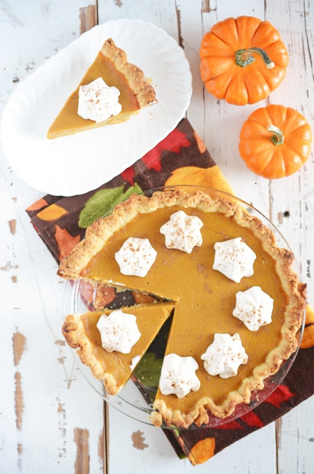 The Quintessential Pumpkin Pie