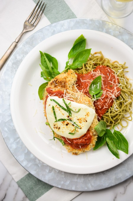 Weeknight Baked Parmesan Chicken