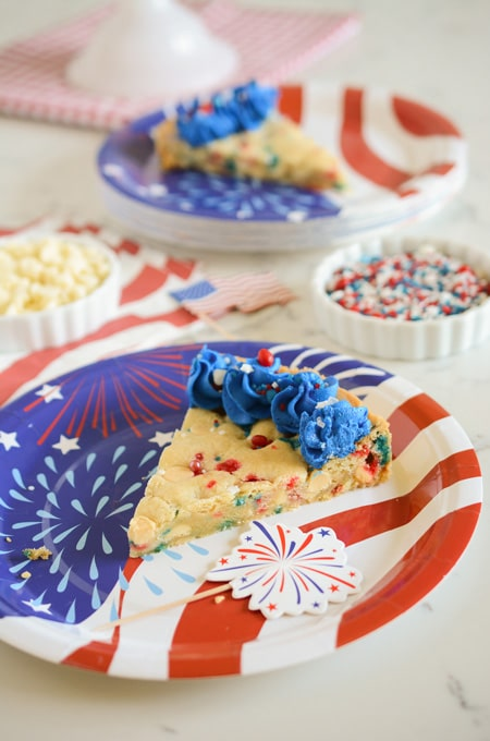 July 4th Cookie Cake