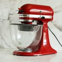 KitchenAid Artisan Tilt-Head Stand Mixer 5-Quart, Empire Red