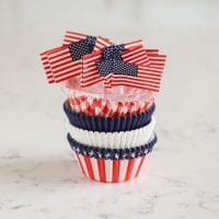 Flag Patriotic Baking Cup Combo Pack 100 ct.from Wilton